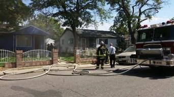 Reportan incendio en Lansing St. en Aurora