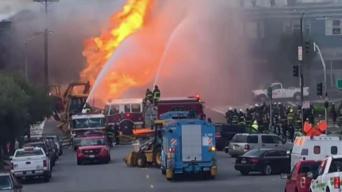 Confirman explosión de gas en San Francisco