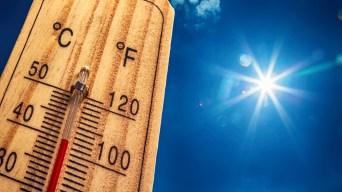 La temperatura  rompió récord el primer día del mes