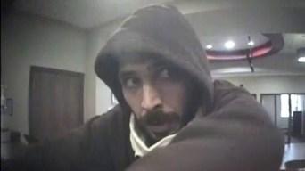 La Policía  busca sospechoso de robo de un banco