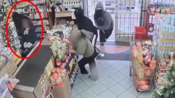 Revelan video de violento robo armado a plena luz del día