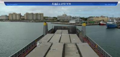 Puerto Rico envía un barco con ayuda para Venezuela