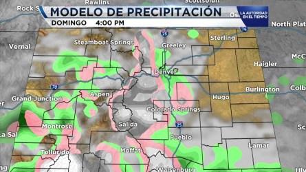 Hoy sábado los cielos continuarán nublados y con lluvia y nieve sobre la zona. Precaución si maneja a las montañas. Más esta tarde en Noticiero Telemundo Denver.