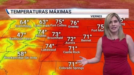 Condiciones despejadas y secas. Temperaturas por encima de los 70 grados