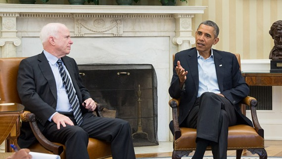 Siria: McCain urge apoyo a Obama