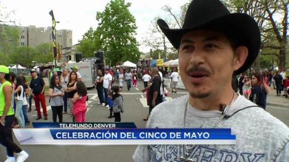 Celebran el Cinco de Mayo con alegría en Denver