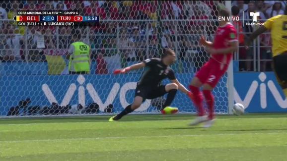El segundo gol de Bélgica