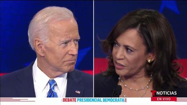 Debate demócrata: Biden y Harris protagonizan dramático encontronazo