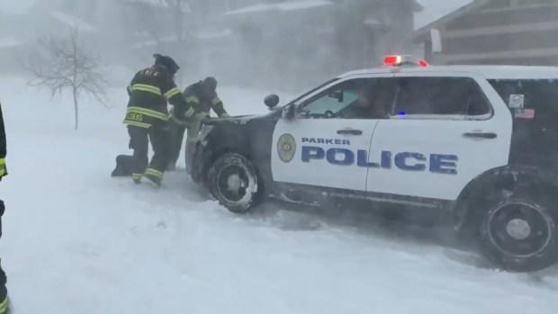 [TLMD - Denver] Mejores imágenes de la tormenta invernal del 13 de marzo
