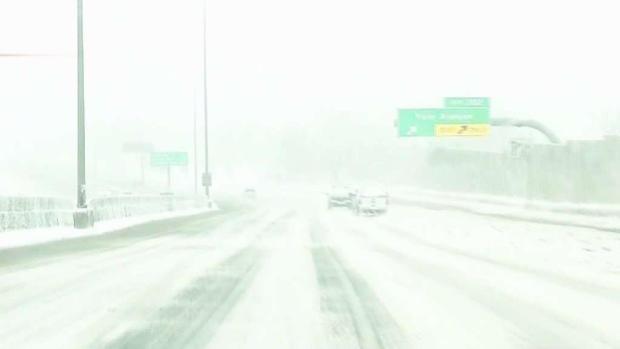 [TLMD - Denver] Así lucen calles en Denver tras la tormenta invernal