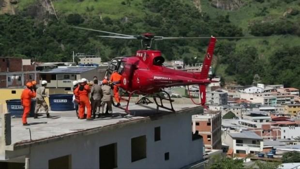 [TLMD - NATL] Rescatan sobrevivientes de derrumbe de edificios en Brasil