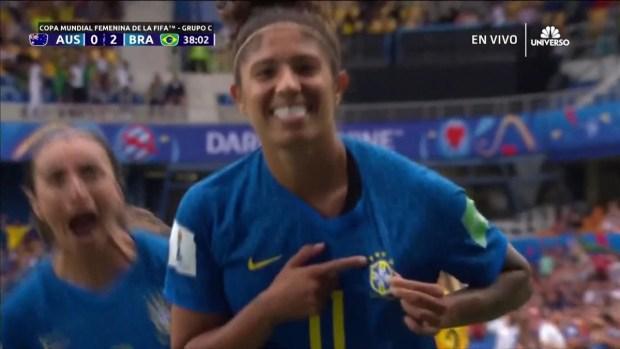 [WWC 2019 - PUBLICADO] Golazo de Cristiane para poner a Brasil 2-0 ante las australianas