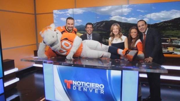 Miles visita telemundo Denver