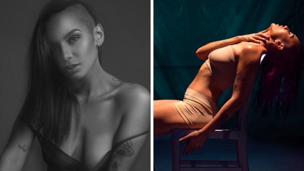 Dayan: sexy cantante pop que desnuda sus emociones