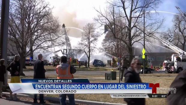 [TLMD - Denver] Encuentran segundo cadáver tras incendio en Denver