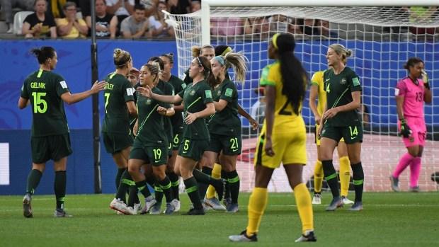 [WWC 2019 - PUBLICADO] ¡Golazo de Australia! Sam Kerr pone el primero ante Jamaica