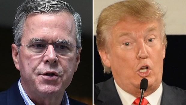 Video: Jeb Bush dice que Trump no es conservador