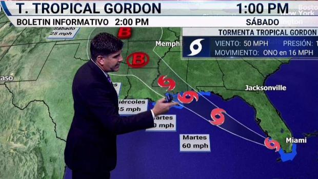[TLMD - MIA] Persistirán las lluvias en el sur de la Florida asociadas a Gordon