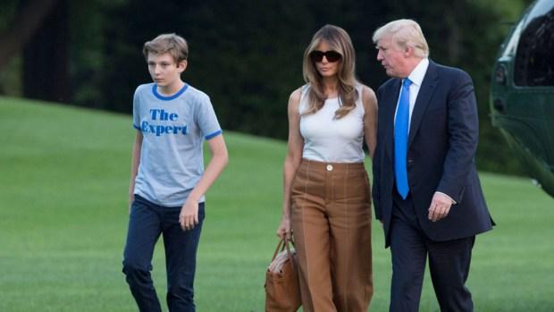 Melania Trump revela detalles de su hijo y dice qué tarea no ha hecho en Casa Blanca