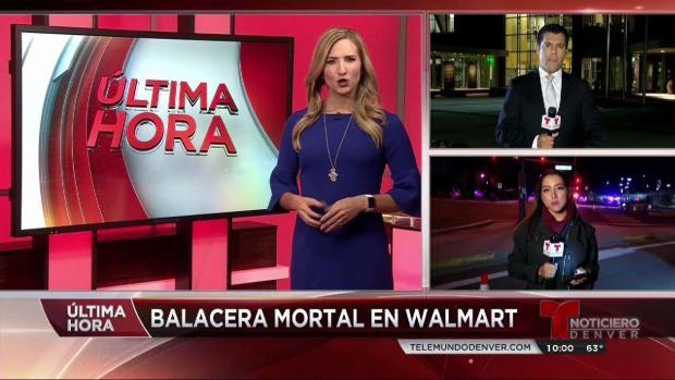 Balacera en Walmart de Thornton
