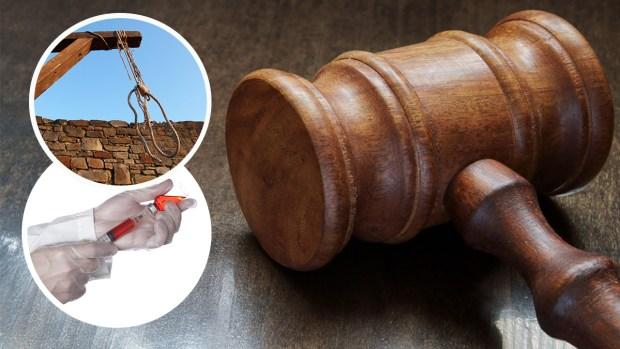 Rostros de los ejecutados: ley controversial para matar reos