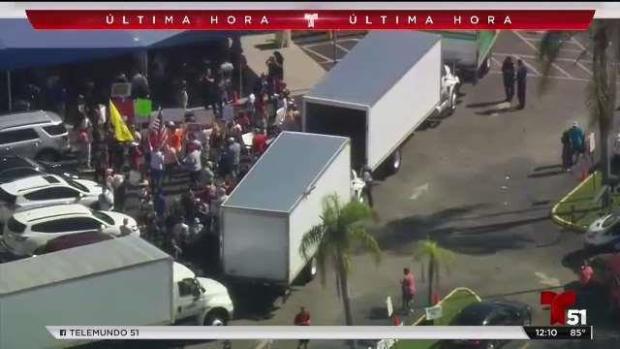 [TLMD - MIA] Protestas frente a Departamento de Elecciones de Broward