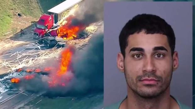 [TLMD - MIA] Sale bajo fianza cubano acusado de 40 cargos por accidente en Colorado