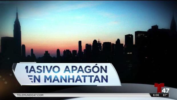 [TLMD - NATL] Servicio eléctrico fue reestablecido en Nueva York tras horas de oscuridad