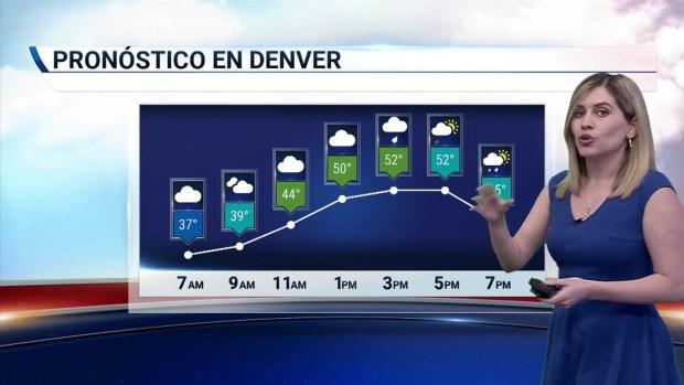 [TLMD - Denver] Día parcialmente nublado y aisladas tormentas elécticas en la tarde