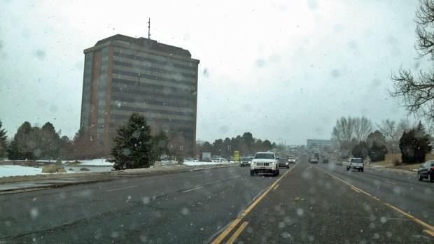 Paradas de buses saturadas de nieve