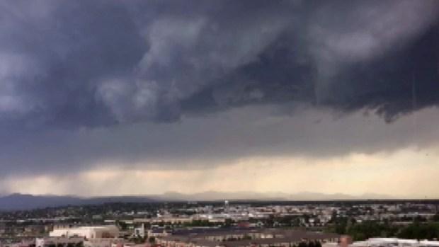 En video: Tormenta de granizo sacude a Denver