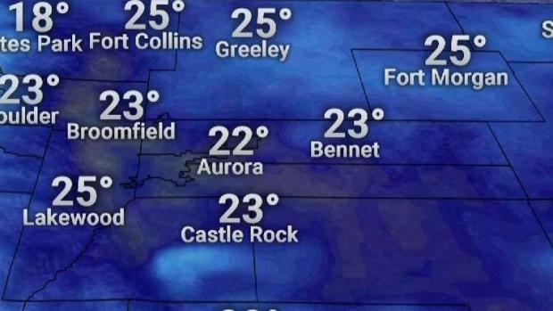 [TLMD - Denver] Tras un día soleado el frío intenso llegará a Denver