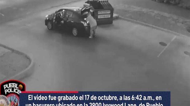 [TLMD - Denver] Video sospechoso tira el cuerpo de una mujer muerta a una basura