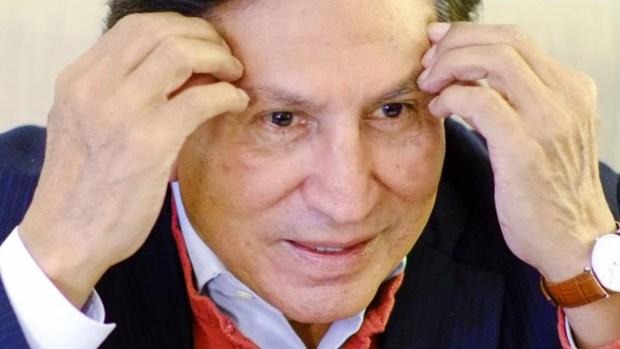 Arrestan a expresidente de Perú, Alejandro Toledo