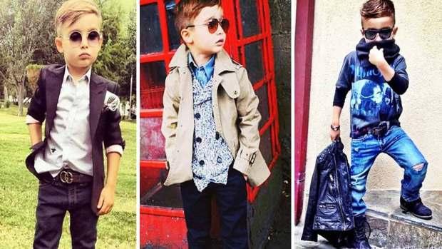 """Fotos: El niño más """"fashionista"""" de México"""