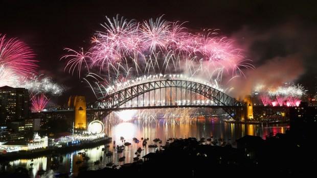 El mundo celebra la llegada del 2015
