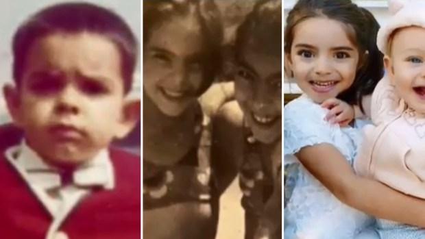 De niños: ¿reconoces a estas celebridades?