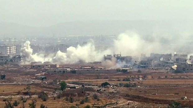 Se intensifican los bombardeos contra ISIS