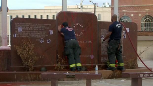 Policía de Denver recibe apoyo de la comunidad