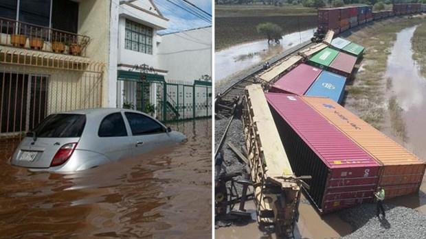 El día después: tormentas siembran destrucción en México
