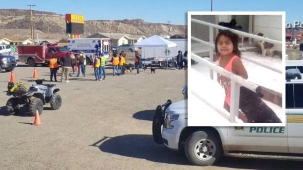 """""""Salió de casa y desapareció"""": suspenden frenética búsqueda por niñita en Utah"""