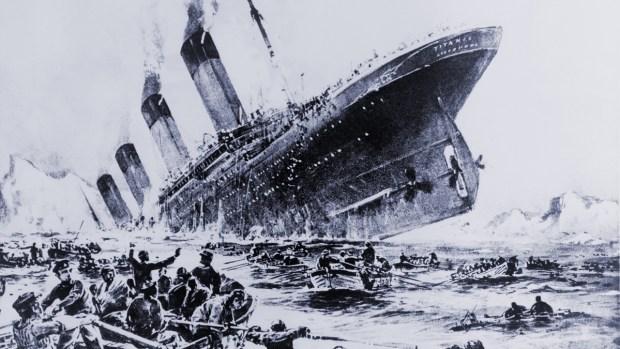 Fotos: naufragios a lo largo de la historia
