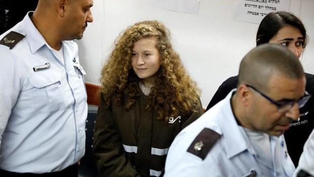 Detención de niña palestina desata críticas