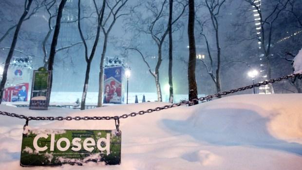 Fotos: mira cómo amanecieron en el noreste tras las nevadas