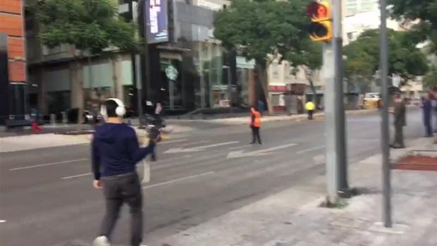 [TLMD - MIA] Pánico en Ciudad de México al sentir nuevo temblor