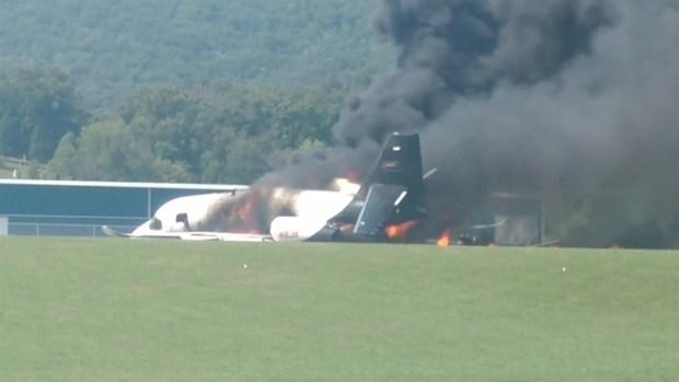 [TLMD - LV] Expiloto de NASCAR sobrevive brutal accidente aéreo