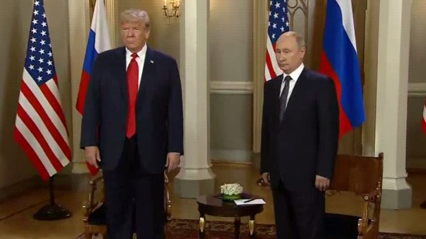 Trump y Putin inician histórica reunión