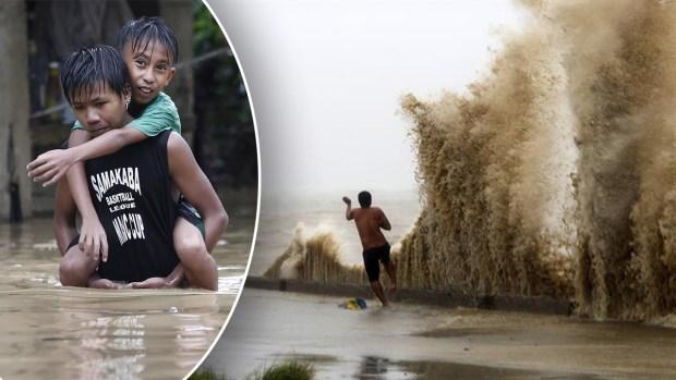 Más poderoso que Florence: feroz súper tifón mata a decenas en su trayectoria