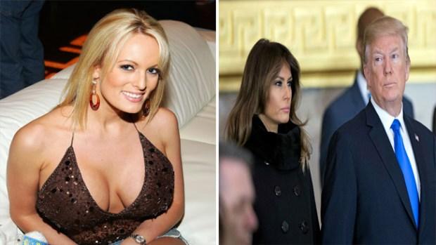 Presunta aventura de Trump: actriz porno dice fue amenazada de muerte