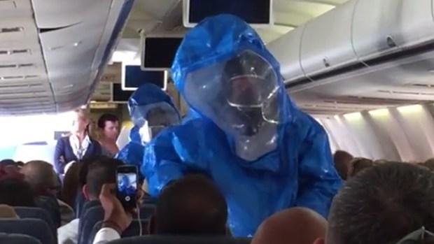 "Video: Pasajero con ""ébola"" de regreso a casa"